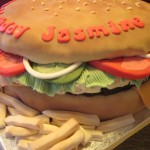 Food, Burger, Fast Food, Army Chef, Cook, Kitchen, French Fries, Fondant & Chef Cakes & Cupcakes