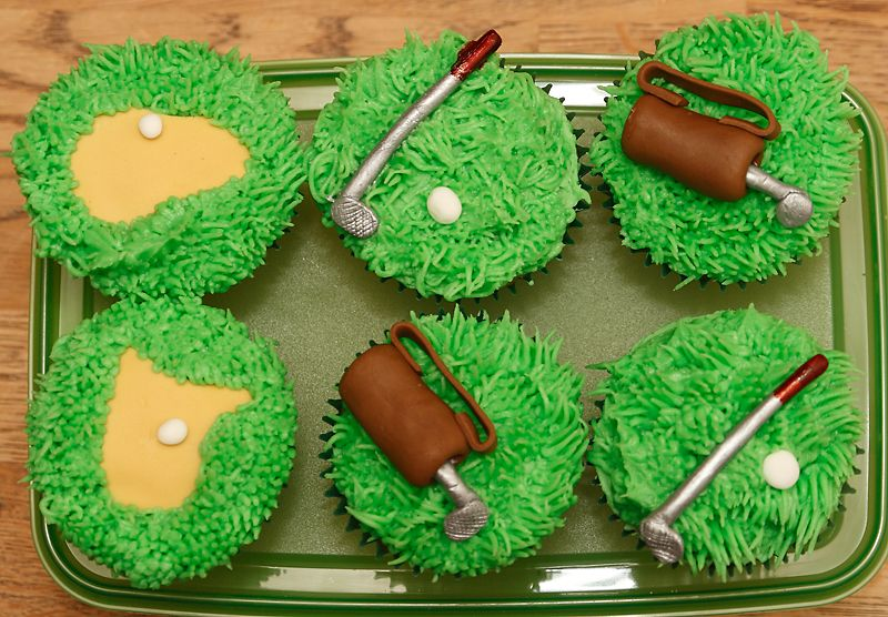 Golf Themed Cakes And Cupcakes