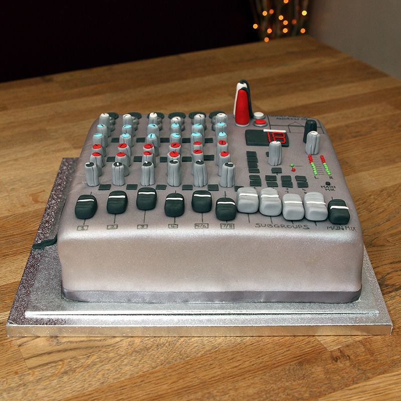 Mixing Board Cake - everything is edible Happy Birthday Wishes
