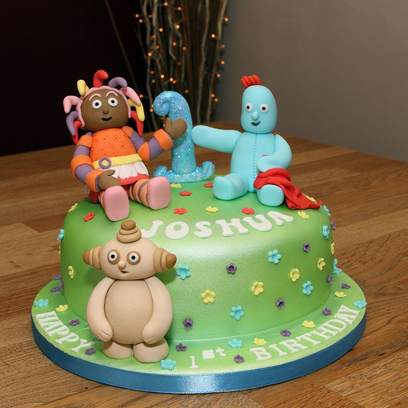 How To Make An In The Night Garden Cake
