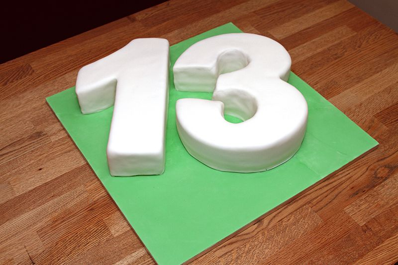 How To Decorate Number Cake