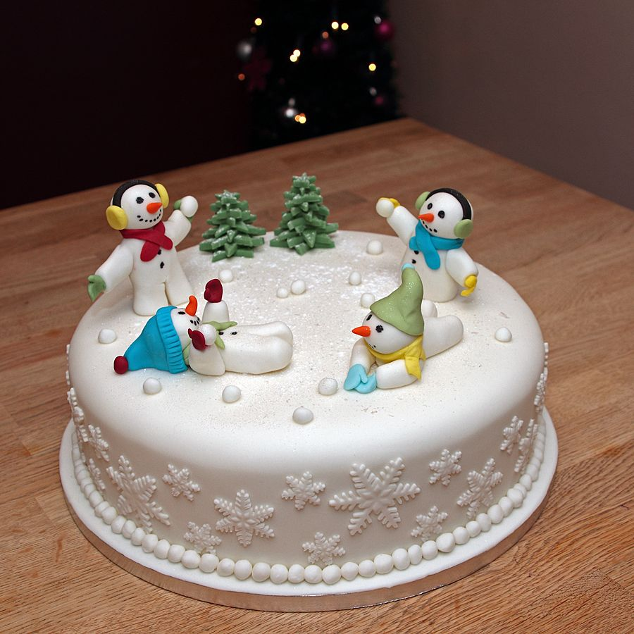 Christmas Cakes Amp Cupcakes Galleries