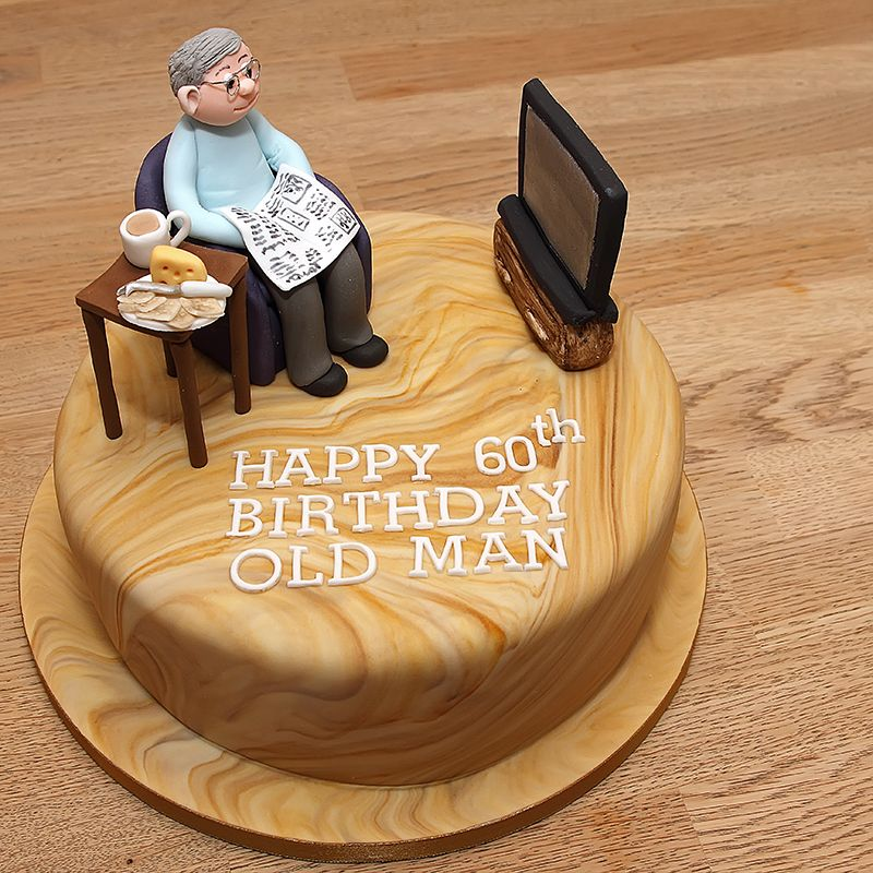 Cake Designs For Fathers Birthday : Dad s Favourite Chair - Handmade fondant dad on his ...