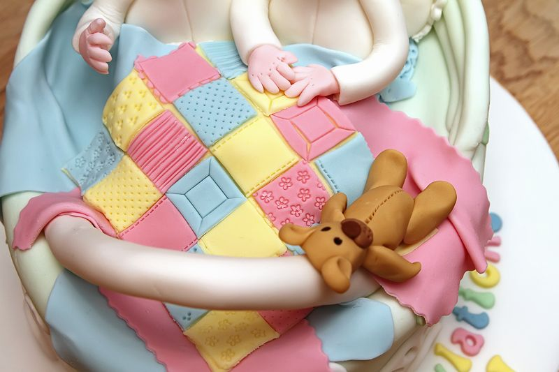Baby Shower Cakes For Twin Babies Diabetesmangfo