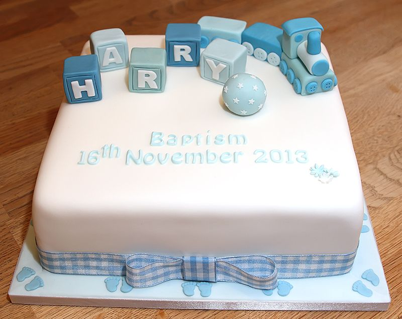 how to make a train for a christening cake