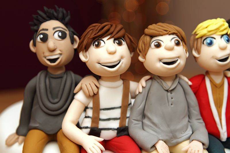 One Direction Cake Toppers Figures